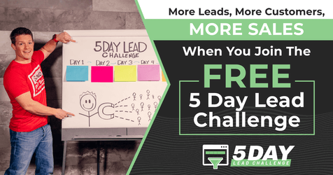 click funnels 5 day lead challenge